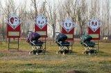 Heißer Aluminiumlegierung-beweglicher leichter Baby-Spaziergänger des Verkaufs-2016