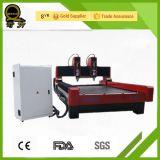Stein-CNC-Fräser-Maschine mit doppelten Spindeln