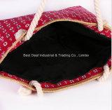 الجديدة أنثى حقيبة عرضيّ نوع خيش حقيبة [شوولدر بغ] أنثى شخصية أن يحمل حقيبة يد