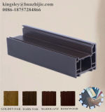 ريح مقاومة خشبيّة لون [بفك] نافذة قطاع جانبيّ مع وحيد/ضعف/زجاج ثلاثيّ