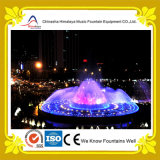 Напольный фонтан воды танцы нот в большом диапазоне