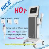 Hifu (ultrason orienté de forte intensité) Hifu et ultra matériel de déplacement de ride d'âge