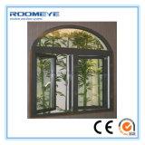 Guichet en verre en aluminium de tissu pour rideaux d'isolation thermique de Roomeye