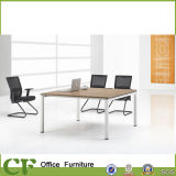 Tableau moderne de salle de réunion de bureau de patte d'enduit de poudre