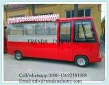 4つの車輪の電気移動式トラック