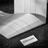 Elástico tejido del primer grado que cura envolviendo la tela industrial de la cinta para el manguito de goma