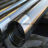 219mmのステンレス鋼の金網のウェッジワイヤー連続的なスロットはスクリーン砂制御湧き出る