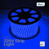 높은 Lumen 72 LEDs/M 220V Flexible LED Strip Light