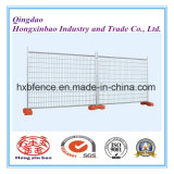 Hot DIP Galvanized Welded Wire Mesh / Chain Link Cerca Temporária