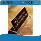 Signe acrylique personnalisé pour l'étalage