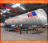 Asme 40000L-60000L 3 Welle LPG-Transport-Becken-Schlussteil LPG-Tanker-halb Schlussteil für Nigeria