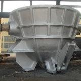 Бак шлака стали отливки уполовника плавильни для завода по изготовлению стали