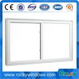 Окно PVC/UPVC сползая с сетью экрана с ручкой