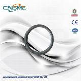 Kegel-Zerkleinerungsmaschine zerteilt Fackel-Ring mit Metso Vorlagen-Qualität