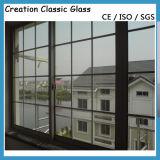 Vidro de isolamento desobstruído, Baixo-e, matizado/vidro vitrificado dobro