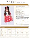 Costume costumé de Cosplay de souris de Minnie de gosses pour des filles