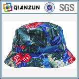 Großhandelsbaumwolldrucken-kundenspezifischer Wannen-Hut-preiswerter Wannen-Hut