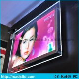Одобренный Ce рекламирующ знак светлой коробки кристалла СИД