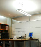 Uispair 현대 사무실 8W 32V 알루미늄 합금 LED 거는 샹들리에 펀던트 램프