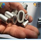 Embouts d'ovale de câble métallique d'alliage d'aluminium