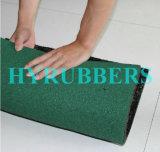Mattonelle di gomma poco costose dell'osso di cane; Stuoia di gomma del pavimento