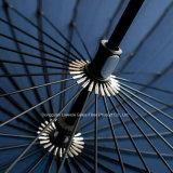 24k 똑바른 골프 우산 Manaual 열려있는 강한 질 승진