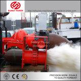 De op zwaar werk berekende Post van de Diesel Pomp van het Water van 32 Duim met Grote Afvloeiing