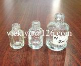 Piccole bottiglie di vetro di alta qualità per le estetiche, polacco di chiodo 6mm