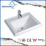 Bacia do banheiro acima do dissipador cerâmico contrário (ACB023)