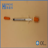 Wegwerfbares Orange Cap Insulin Syringe mit Needle