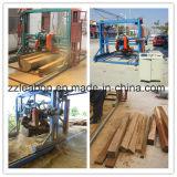 La alta circular de madera portable eficiente vio la máquina
