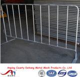 Frontière de sécurité piétonnière amovible de barrière de contrôle de foule pour des événements