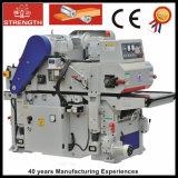 Double machine latérale de planeuse pour des machines de travail du bois