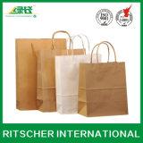 Umweltfreundlicher fördernder Papierbeutel für Verpacken-und Paket-Geschenk-Wein