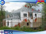 Самомоднейшая светлая вилла стальной структуры Prefab (FLM-H-020)