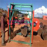 De draagbare Houten Machine van de Zaagmolen van de Lintzaag Horizontale voor Knipsel
