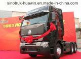 De Vrachtwagen van de Tractor van de Primaire krachtbron van Sinotruk HOWO A7 6X4 HOWO