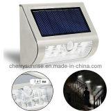 Lumières fixées au mur solaires d'éclairage de support extérieur solaire léger à la maison solaire de mur à vendre