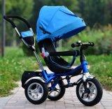 4 в 1 трицикле младенца, прогулочная коляска младенца, ягнятся трицикл