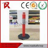 Poste rouge flexible de dessinateur de ressort de la circulation Delineator/T-Top Bollard/T-Top de sécurité routière