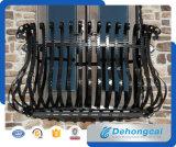 Frontière de sécurité concise de fer travaillé de sûreté résidentielle décorative (dhfence-27)