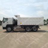 Leistungsfähiger Motor 25tons 30tons 6*4 zum Speicherauszug-Lastkraftwagen mit Kippvorrichtung/zum Kipper