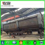 30 - 60 Cbm Kipper de Aanhangwagen van de Stortplaats van het Uiteinde van de Aanhangwagen/3 As