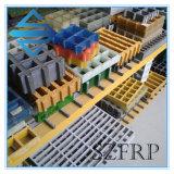 Grating moldado da passagem de FRP fibra de vidro composta
