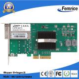 Adaptateur réseau de serveur de jeu de puces de PCI Express X4 Intel I350