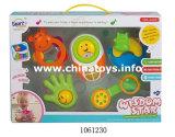 Anello di plastica del bambino del fumetto del giocattolo con musica (1061226)