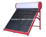 2014China No Fabricante de presión del sistema calentador de agua solar