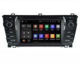 Estereofonia androide de la radio de coche para el jugador auto de Toyota Corolla 2014 LHD DVD GPS