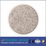 Tarjeta adaptable del cemento de las lanas de madera del color