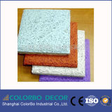 Tarjeta del cemento de las lanas de madera de la insonorización o el panel de las lanas de madera
